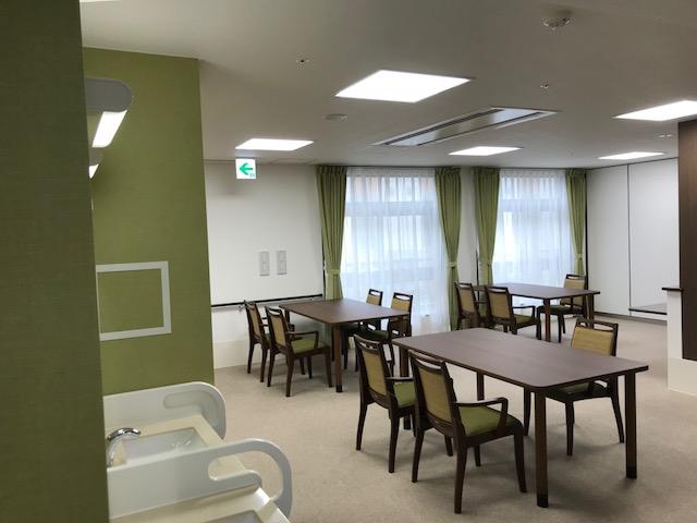 岡垣の介護老人保健施設 カーテンの納品10