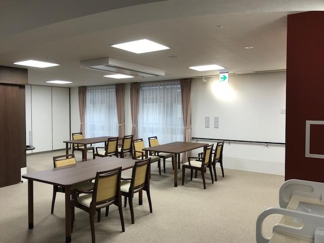 岡垣の介護老人保健施設 カーテンの納品12