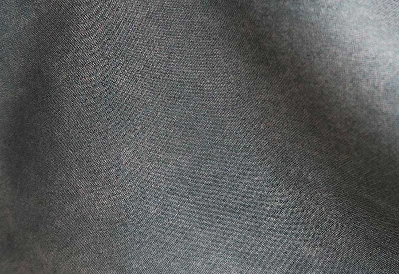 デニム調のオーダーカーテン