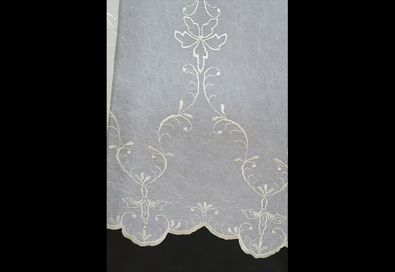 オーダー刺繍レースカーテン1