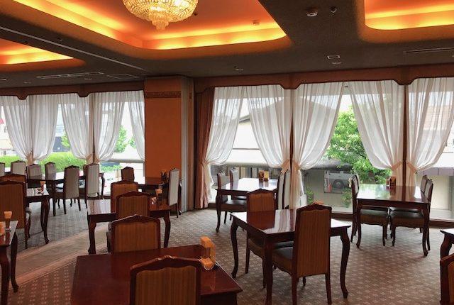 北九州市小倉北区のホテルサンスカイ小倉レースカーテン納品3