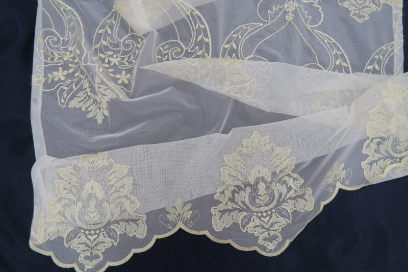オーダー刺繍レースカーテン19