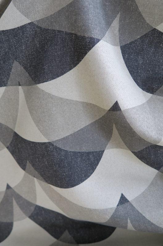 北欧柄の遮光オーダーカーテン