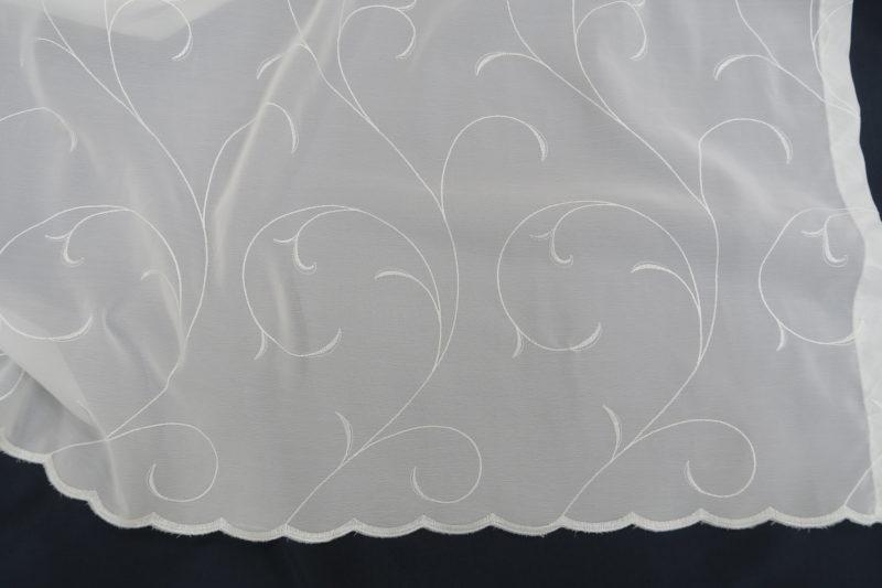 オーダー刺繍レースカーテン3