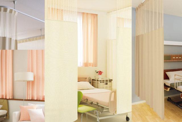 医療用カーテンのイメージ画像